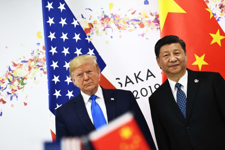 GP: Donald Trump XI Jinping US China trade JAPAN-G20-SUMMIT