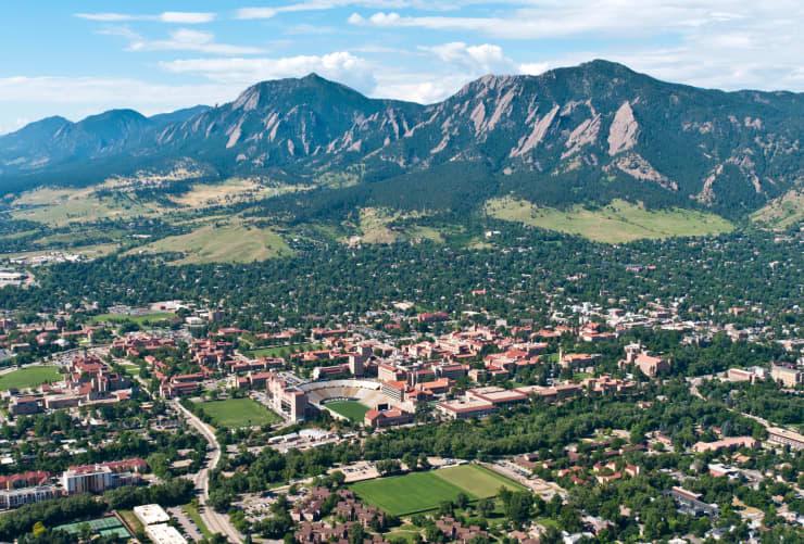 GP: 2019 Top States: Colorado: University of Colorado campus Boulder Colorado