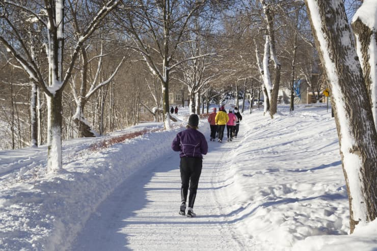 GP: 2019 Top States: Minnesota: Winter Jogging Group