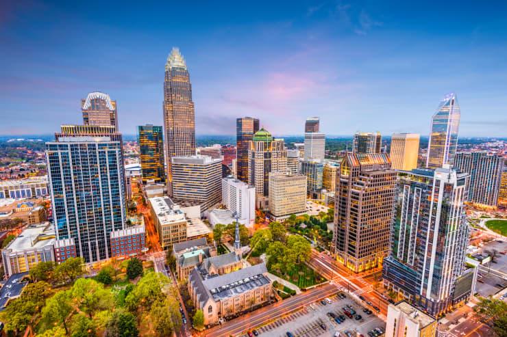 GP: 2019 Top States: Charlotte, North Carolina, USA