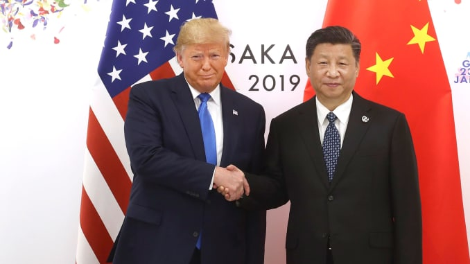GP: Donald Trump and Xi Jinping Osaka 190629
