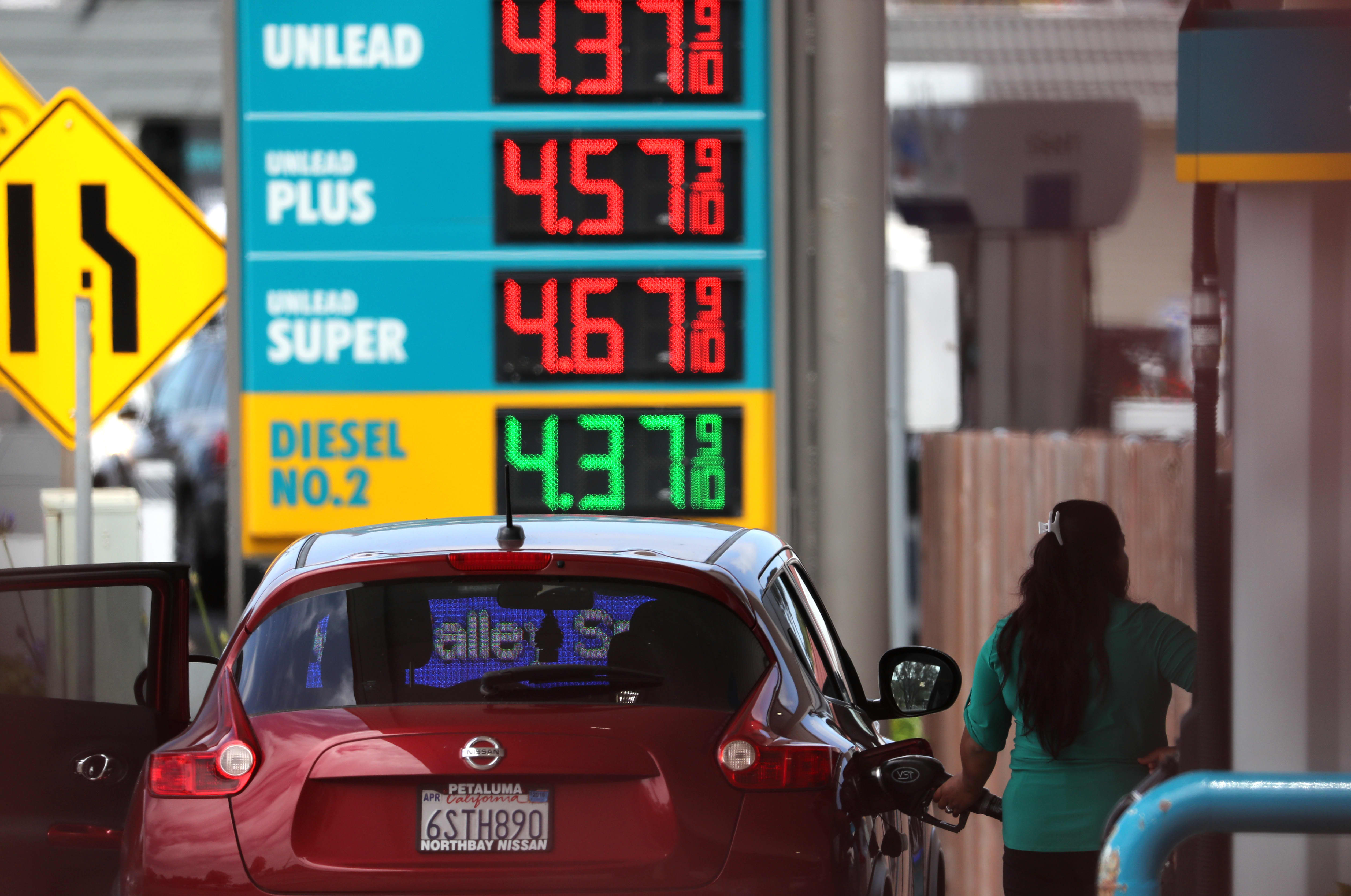 After tax hike, gas in California is now a dollar higher than the national average