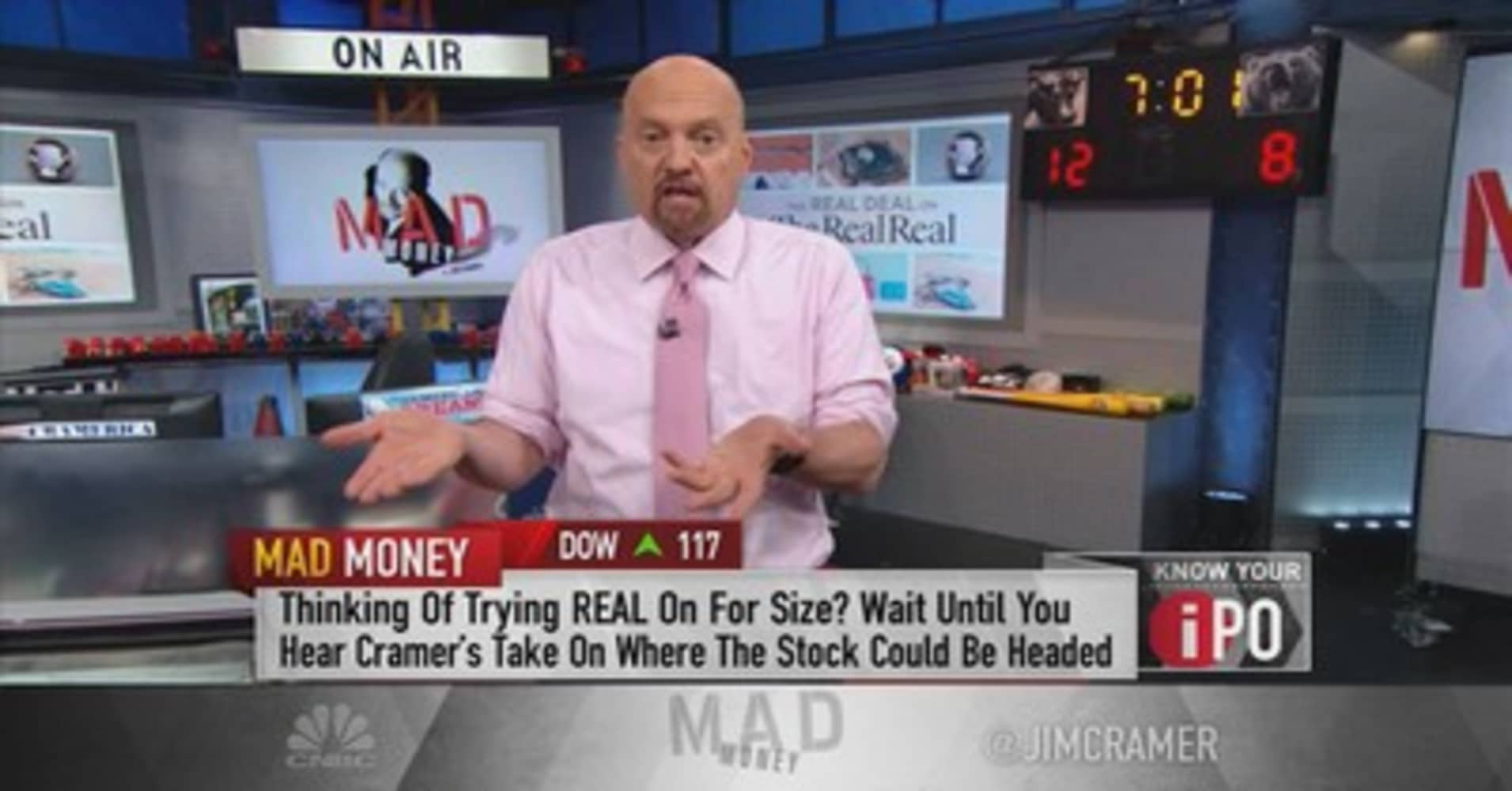 RealReal's IPO and when Jim Cramer says it's OK to pull the trigger