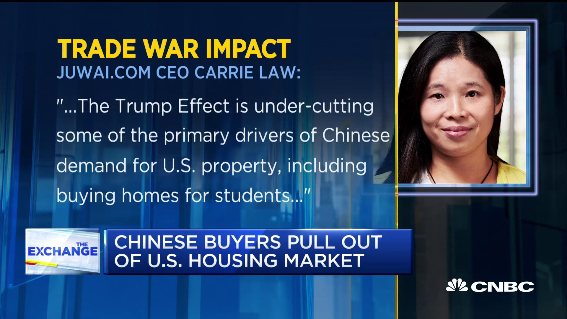 Foreign purchases of American homes plunge 36% as Chinese buyers flee the market
