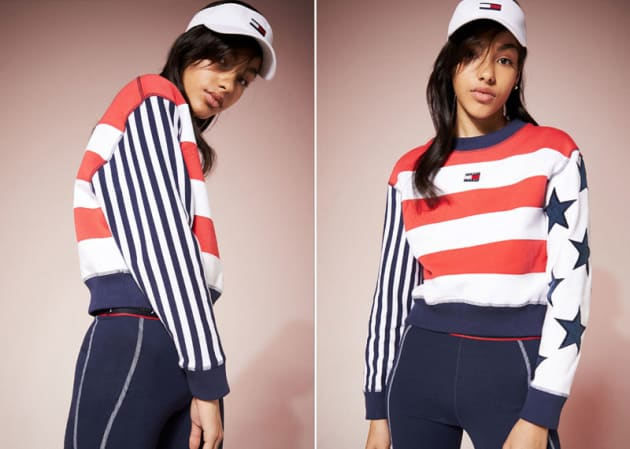 H/O: Tommy Jeans American Flag outfit split