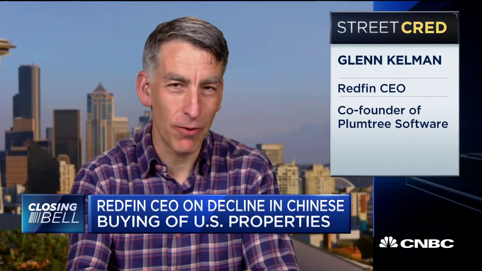 US housing market strong despite decline in Chinese demand, says Redfin CEO