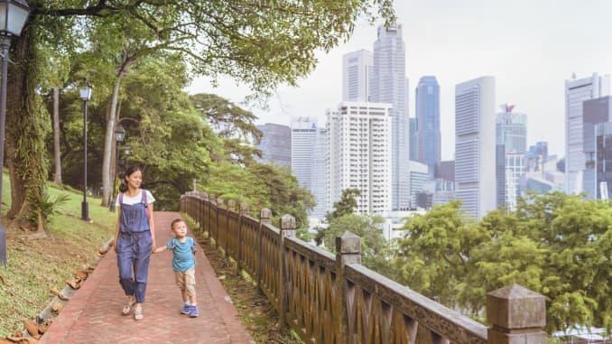 GP: Mother child Singapore 190703 ASIA