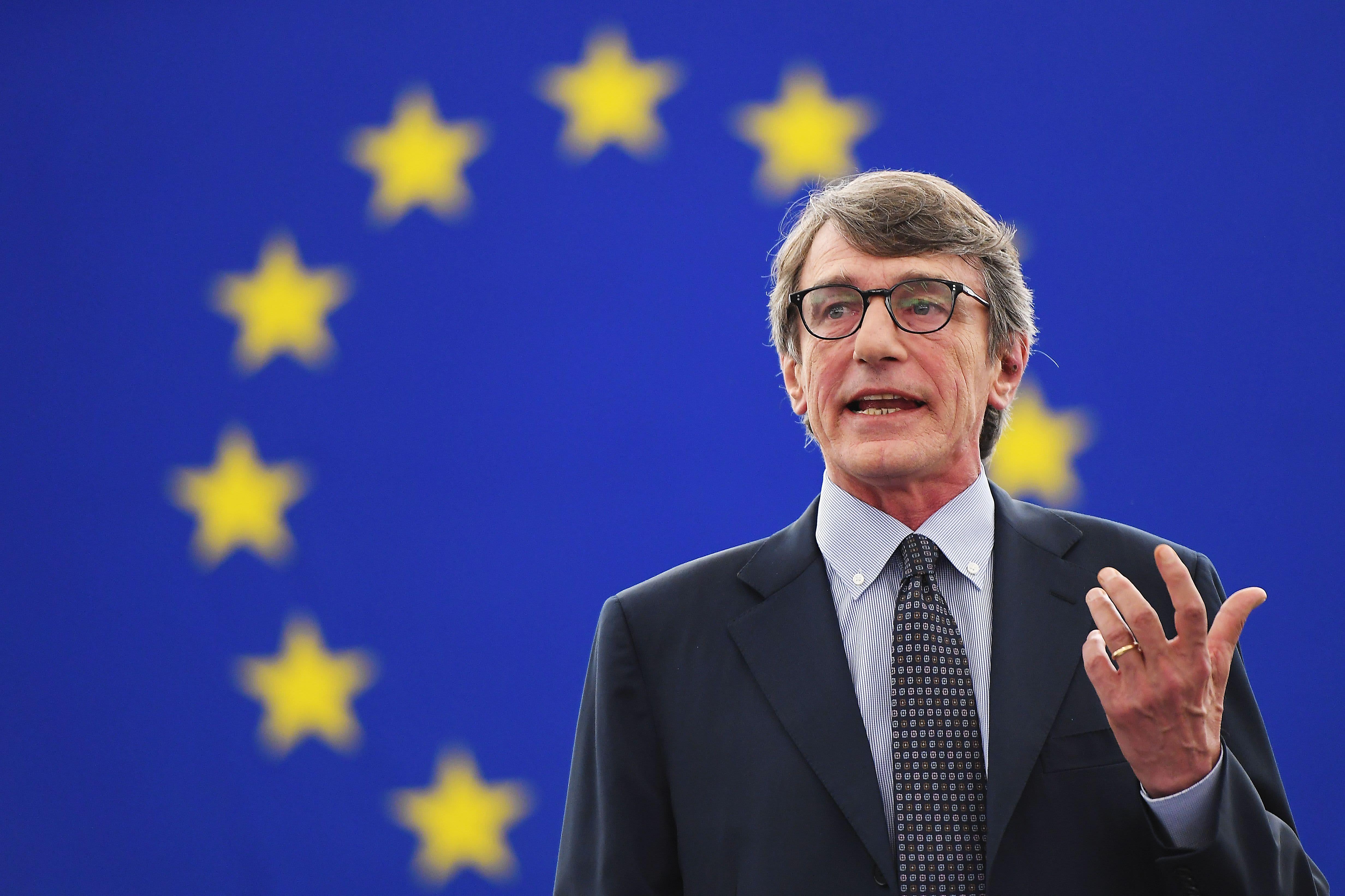 Italian socialist Sassoli elected EU Parliament speaker
