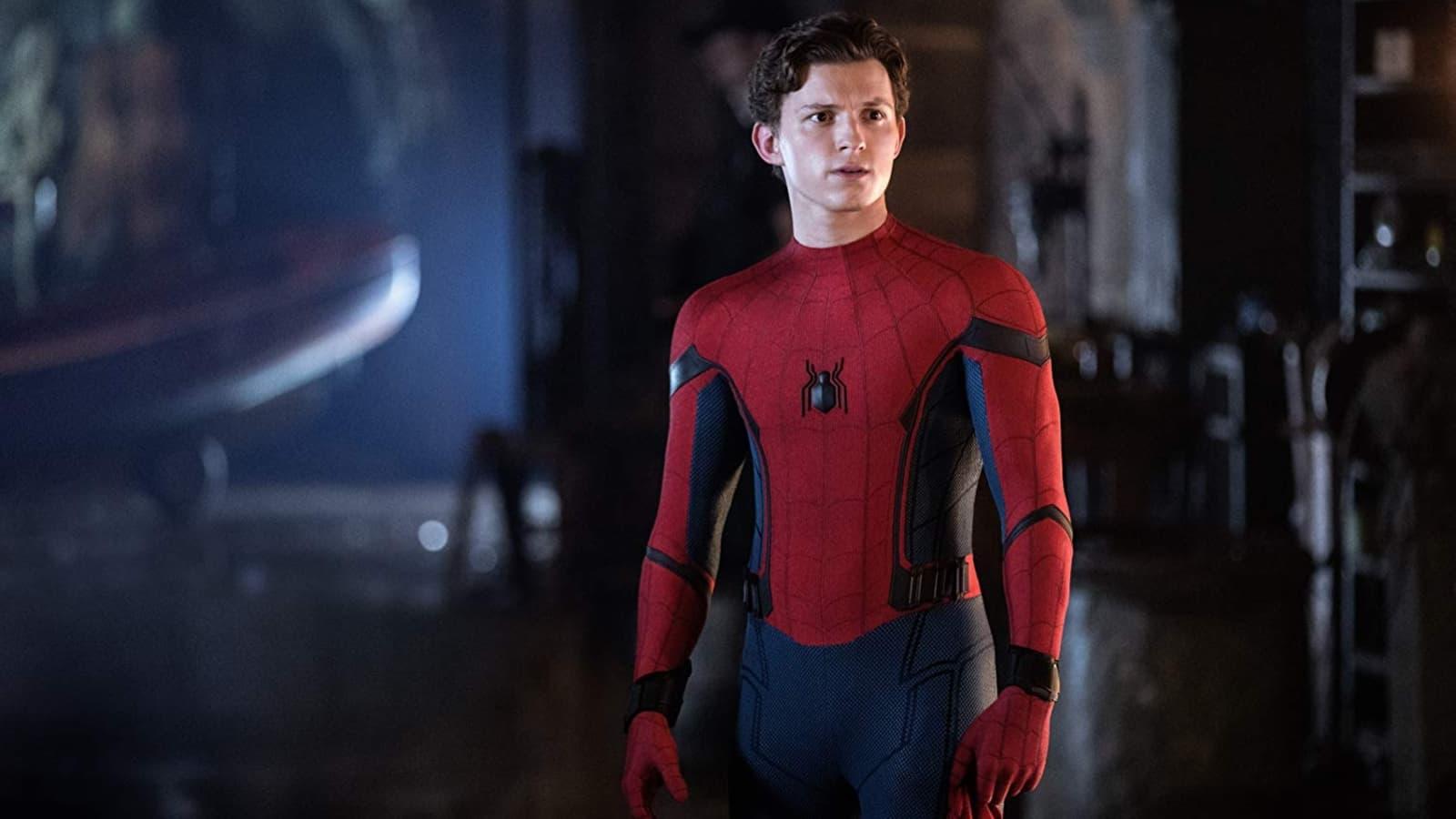Spider man meet tony stark