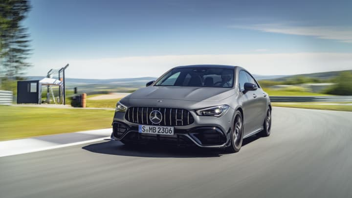 Mercedes muscles up with debut of AMG-powered CLA 45 sedan that hits 60 in four seconds