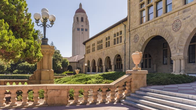 GP: view of the Stanford University