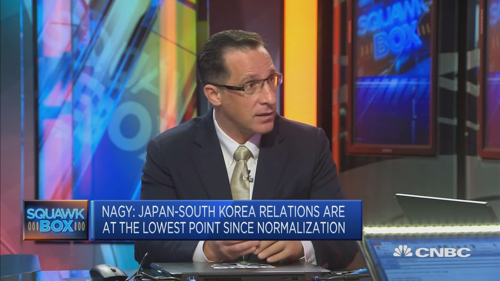 Japan-South Korea dispute is called 'disturbing and unhelpful' for the global economy