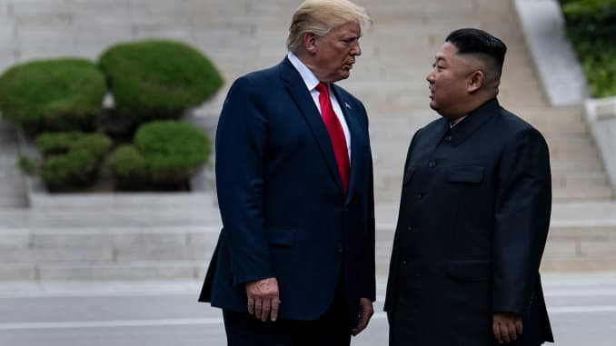 Trump Says Meeting With Kim Jong Un Could Happen Soon