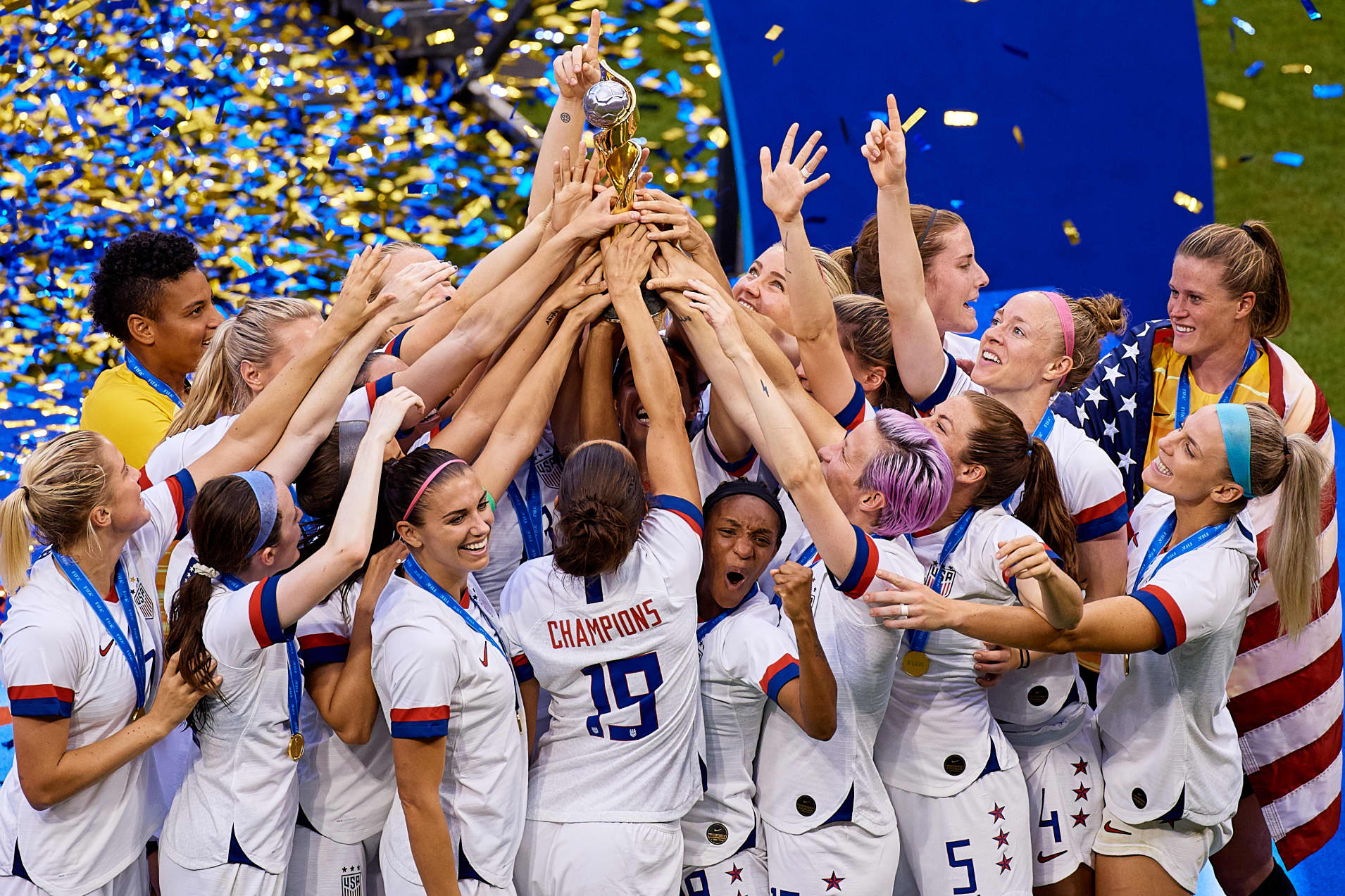 United States of America v Netherlands : Final - 2019 FIFA Women's World Cup France 1
