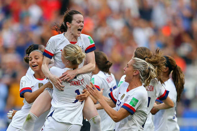 United States of America v Netherlands : Final - 2019 FIFA Women's World Cup France 3
