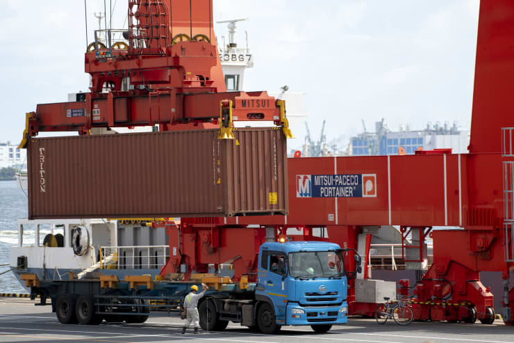 GP: Container Terminal Of Tokyo Bay 08072019