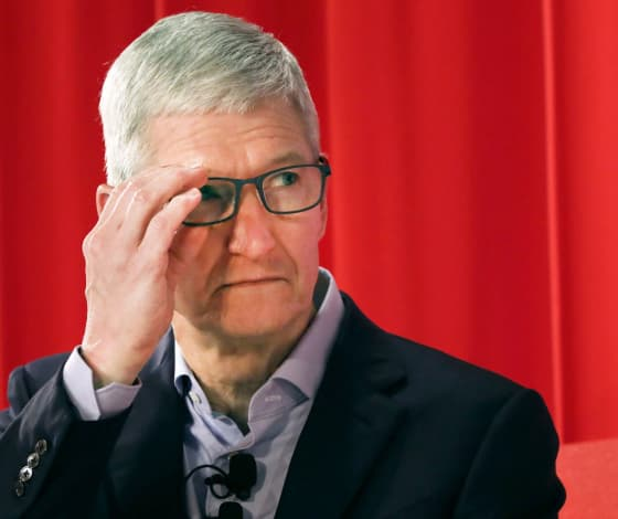 Apple falls as strong iPad and Mac sales don't make up for iPhone decline