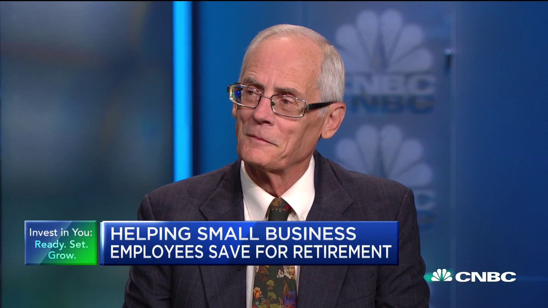 Ted Benna, the 'father of the 401(k),' has a new mission: helping small business employees save for retirement