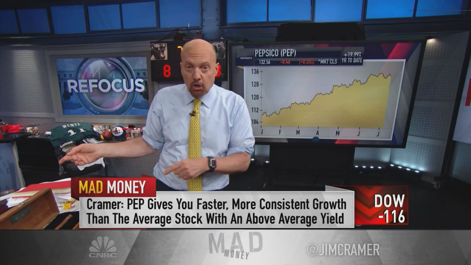 Forget the Fed — Cramer explains what to look for this earnings season