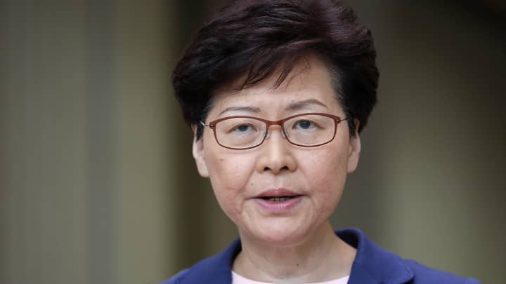 Hong Kong leader Carrie Lam: Extradition bill 'is dead'
