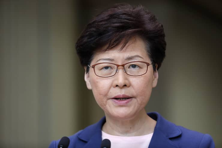 Hong Kong leader says extradition law that sparked protests is 'dead'