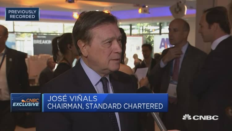 StanChart chairman calls for further consolidation in the European banking sector