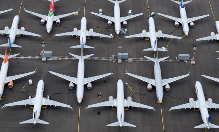 GP: Grounding Of Boeing 737 MAX Planes Extended As New Flaw In Software Is Found