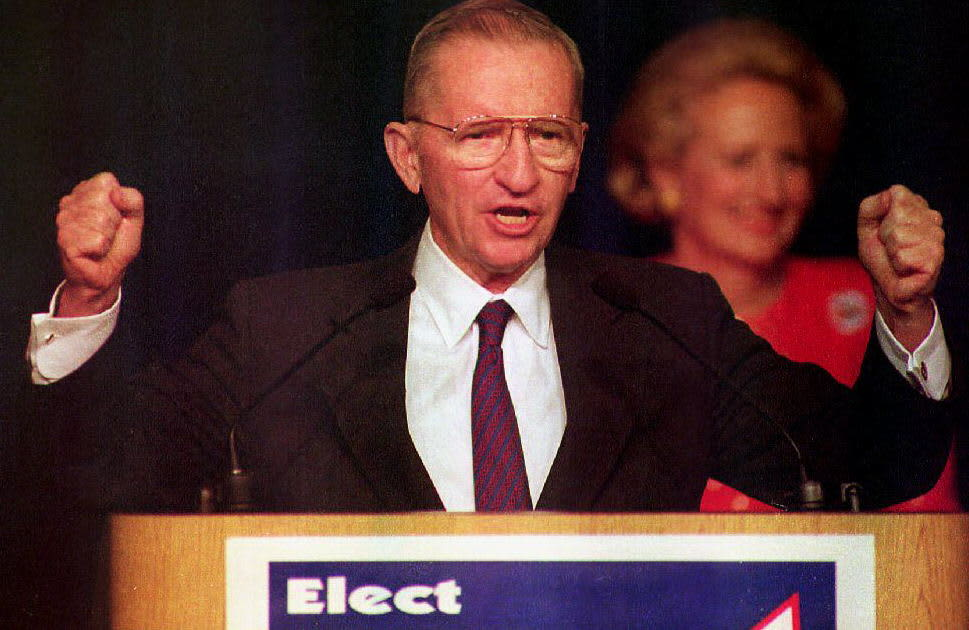 3 principles of success Ross Perot lived by