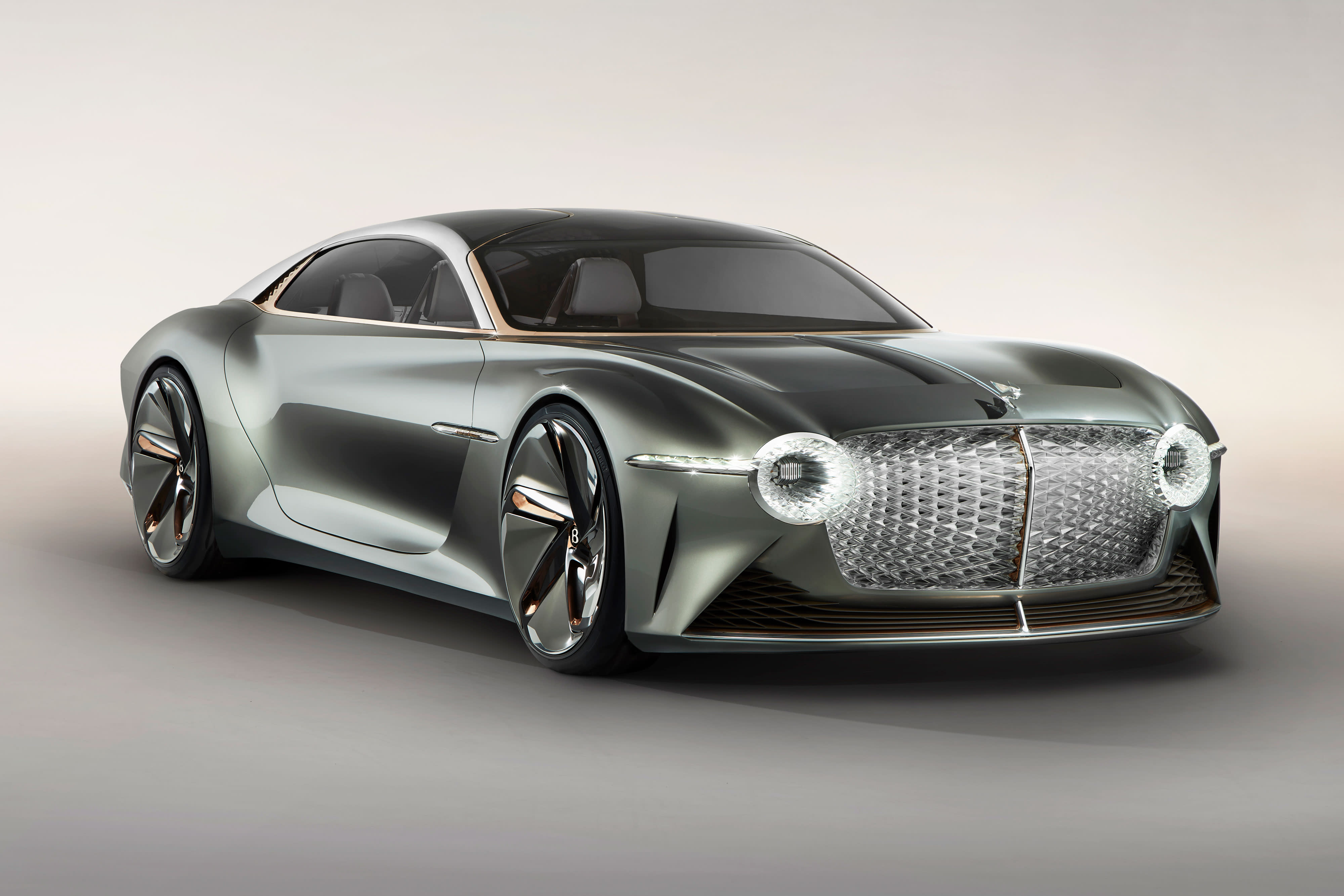 Bentley Rolls Out Electric Eco Friendly Exp 100 Concept Car For Centennial