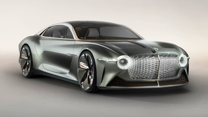 Bentley rolls out electric, eco-friendly EXP 100 concept car for 100th anniversary