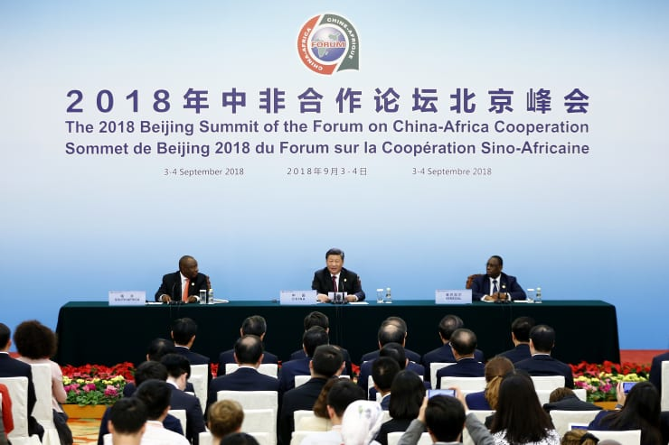 China-Africa cooperation summit in Beijing, China in September, 2018 100719