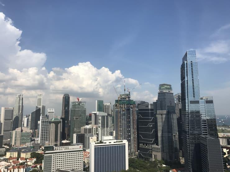 CNBC: Singapore Skyline 190710