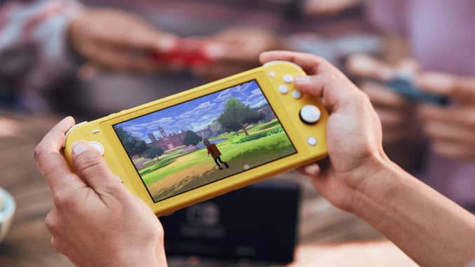CNBC Tech: Nintendo Switch Lite 1