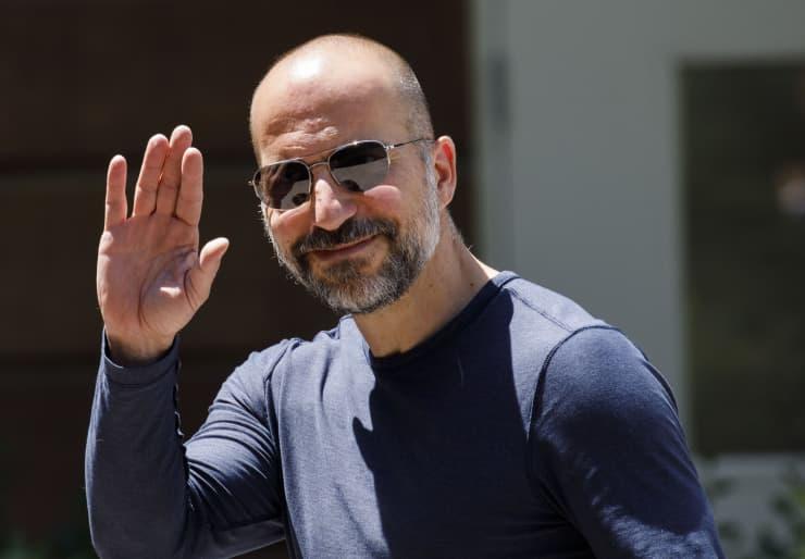 GP: 2019 Sun Valley Arrivals: Dara Khosrowshahi, chief executive officer of Uber Technologies Inc.