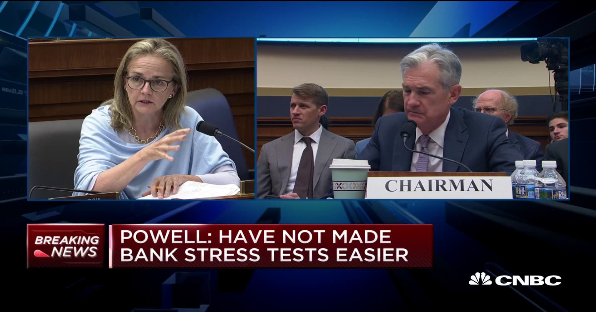 Fed's Powell: Uncertainty in business investment due to trade policy