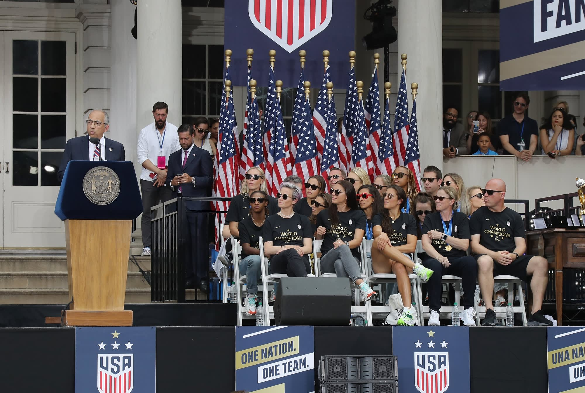 After US women's World Cup victory, the fight for equal pay takes center stage