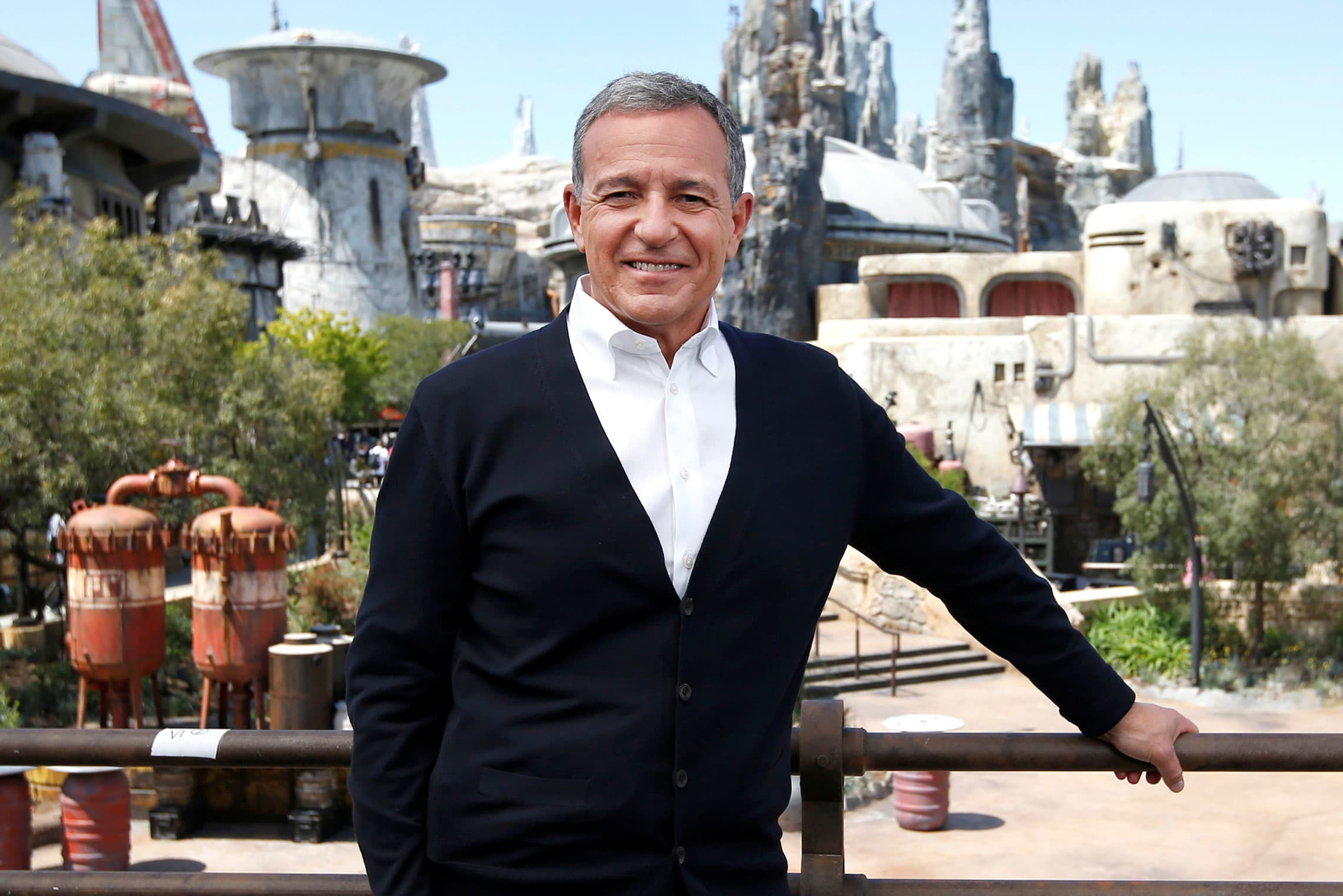 Disney CEO Bob Iger says it's a coincidence the Disney+ bundle costs the same as a Netflix subscription