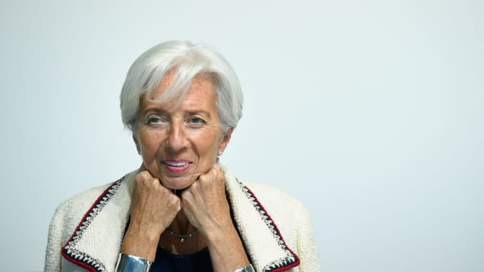 GS - christine Lagarde