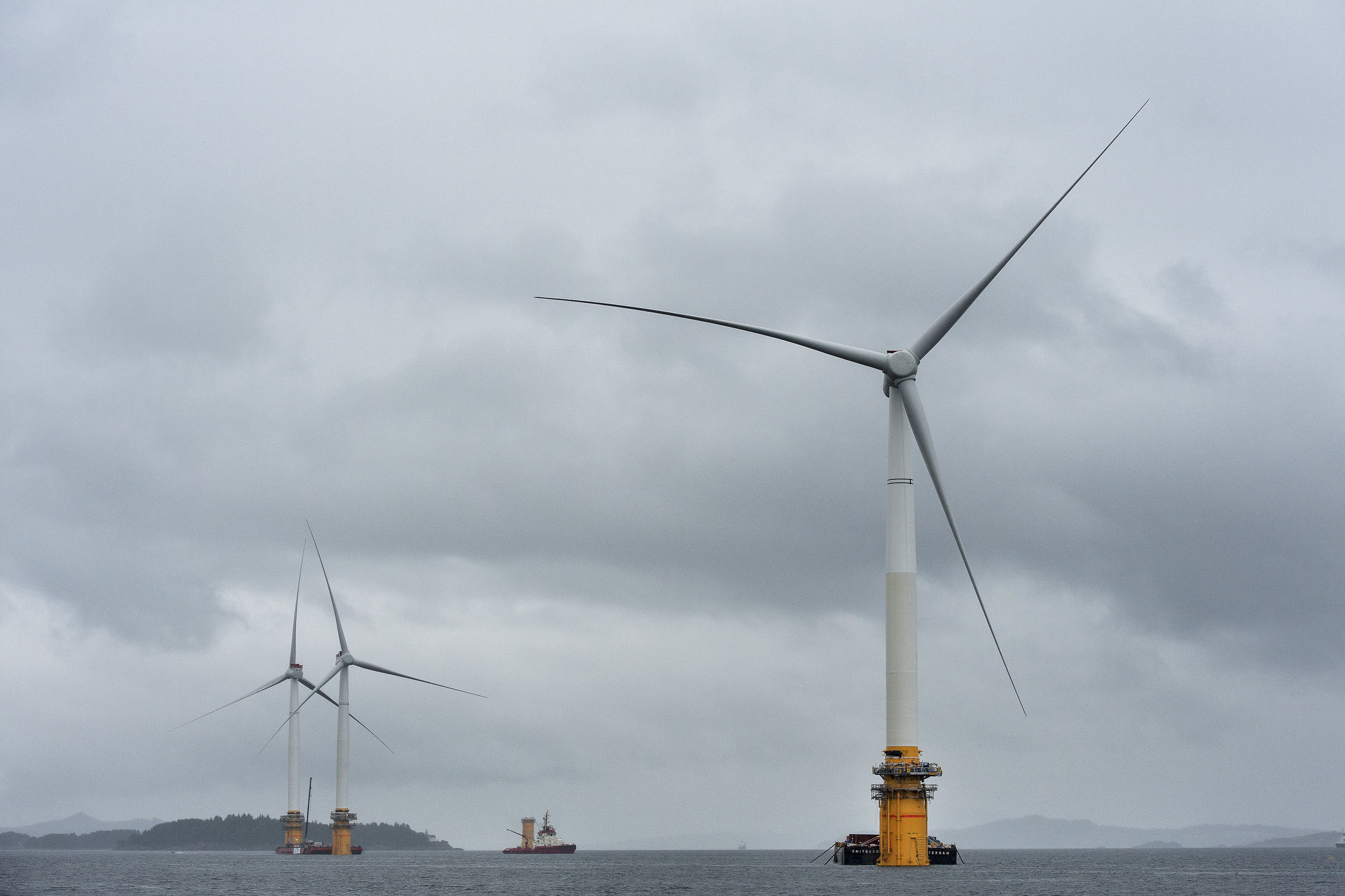 South Korea could soon be home to the world's biggest floating offshore wind farm
