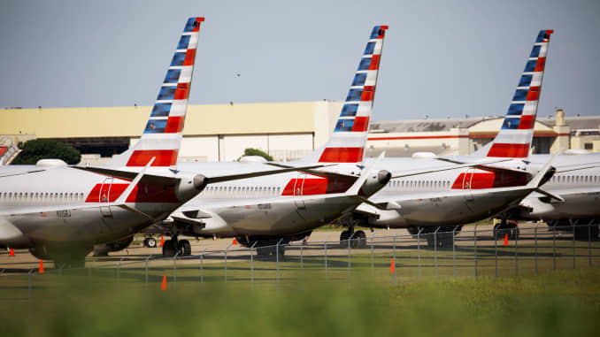 American extends Boeing 737 Max cancellations until after