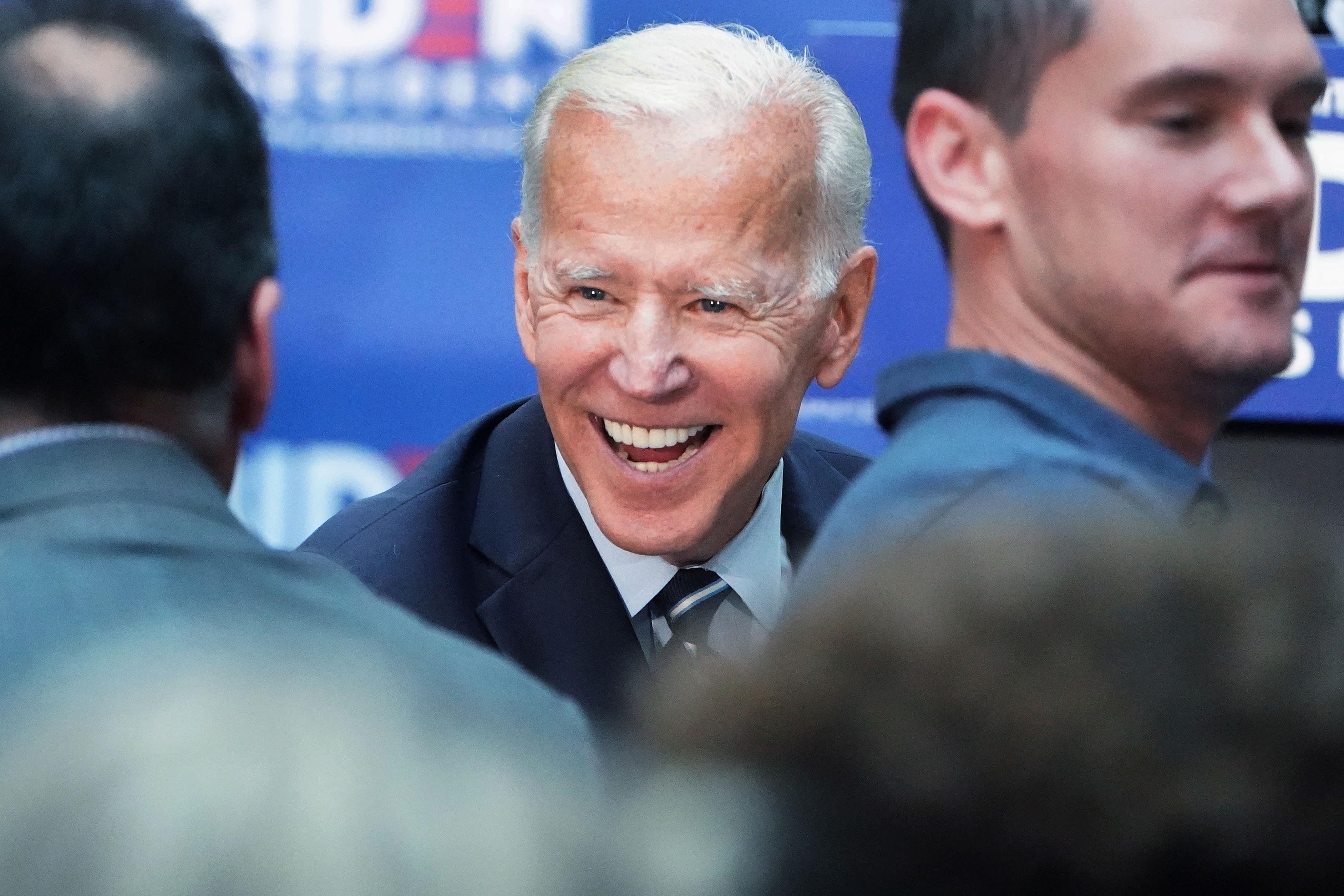 Biden leads 2020 Democratic race, followed by Warren, Harris and Sanders: NBC/WSJ poll