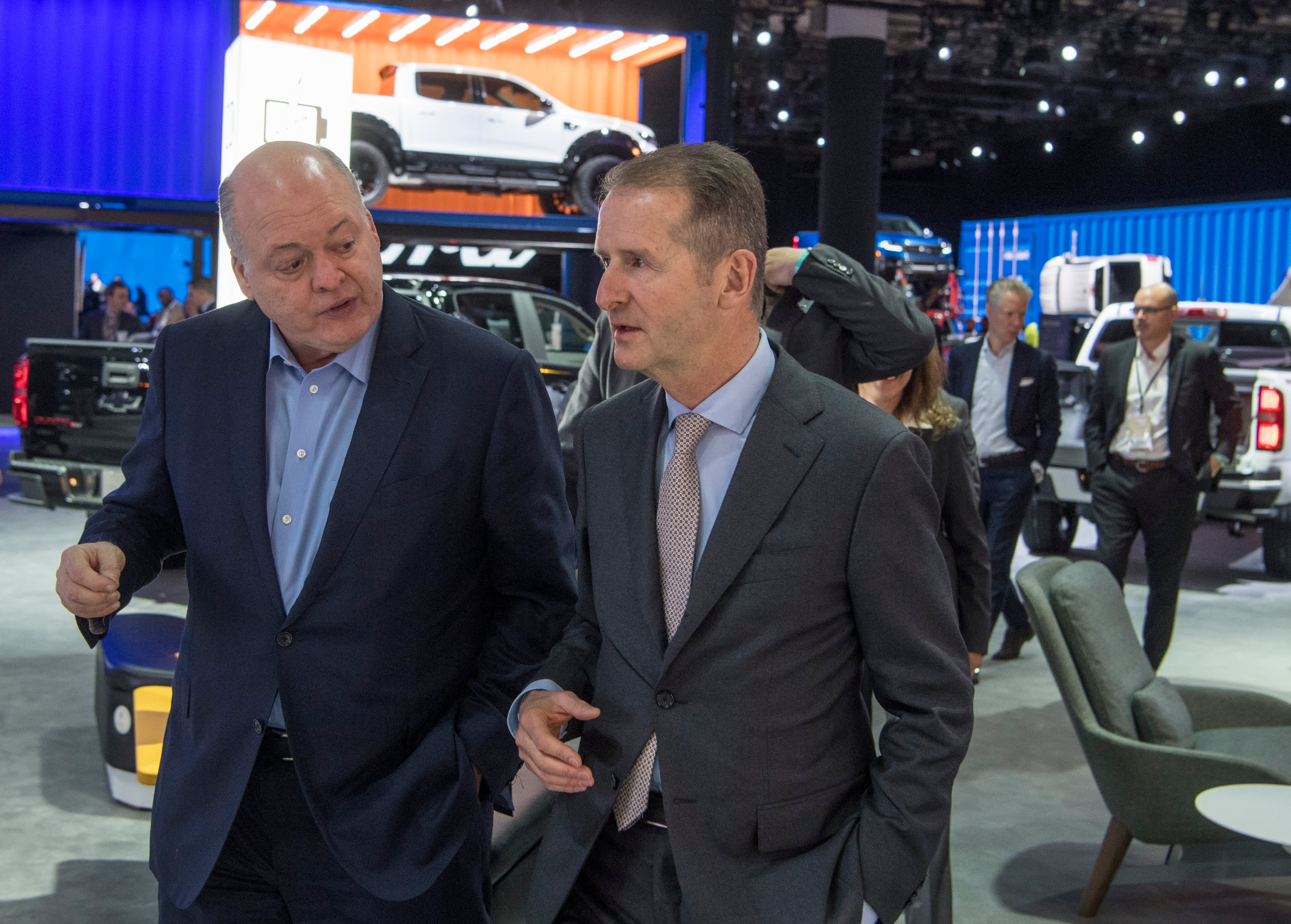 Ford, VW confirm plan to expand collaboration to include autonomous and electric vehicles
