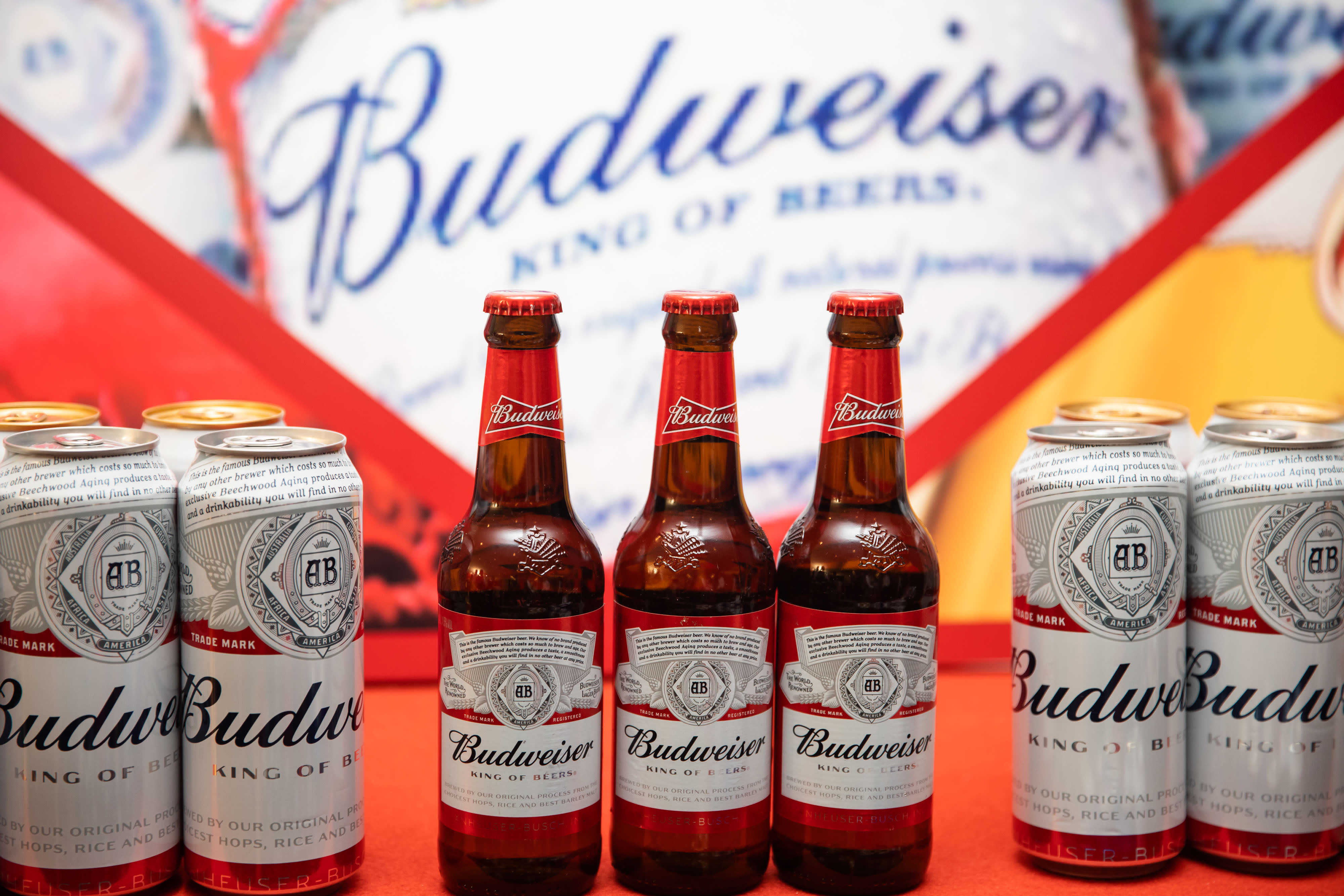 Budweiser wants to take on China, the world's largest beer market where local brews rule