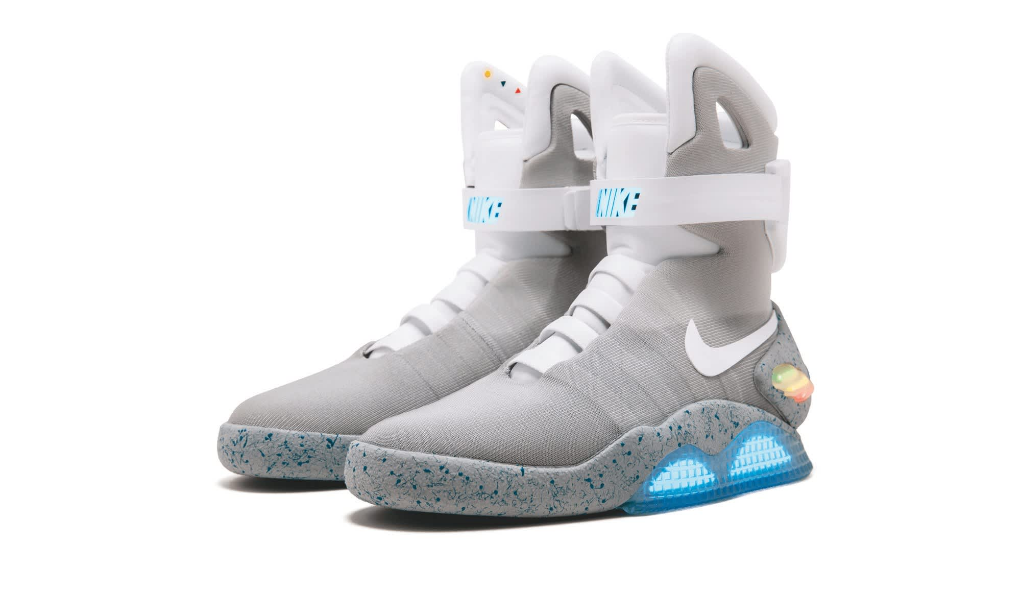 Nike 'moon shoes' and 'Back to the Future' sneakers up for