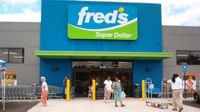 H/O: Fred's Super Dollar store