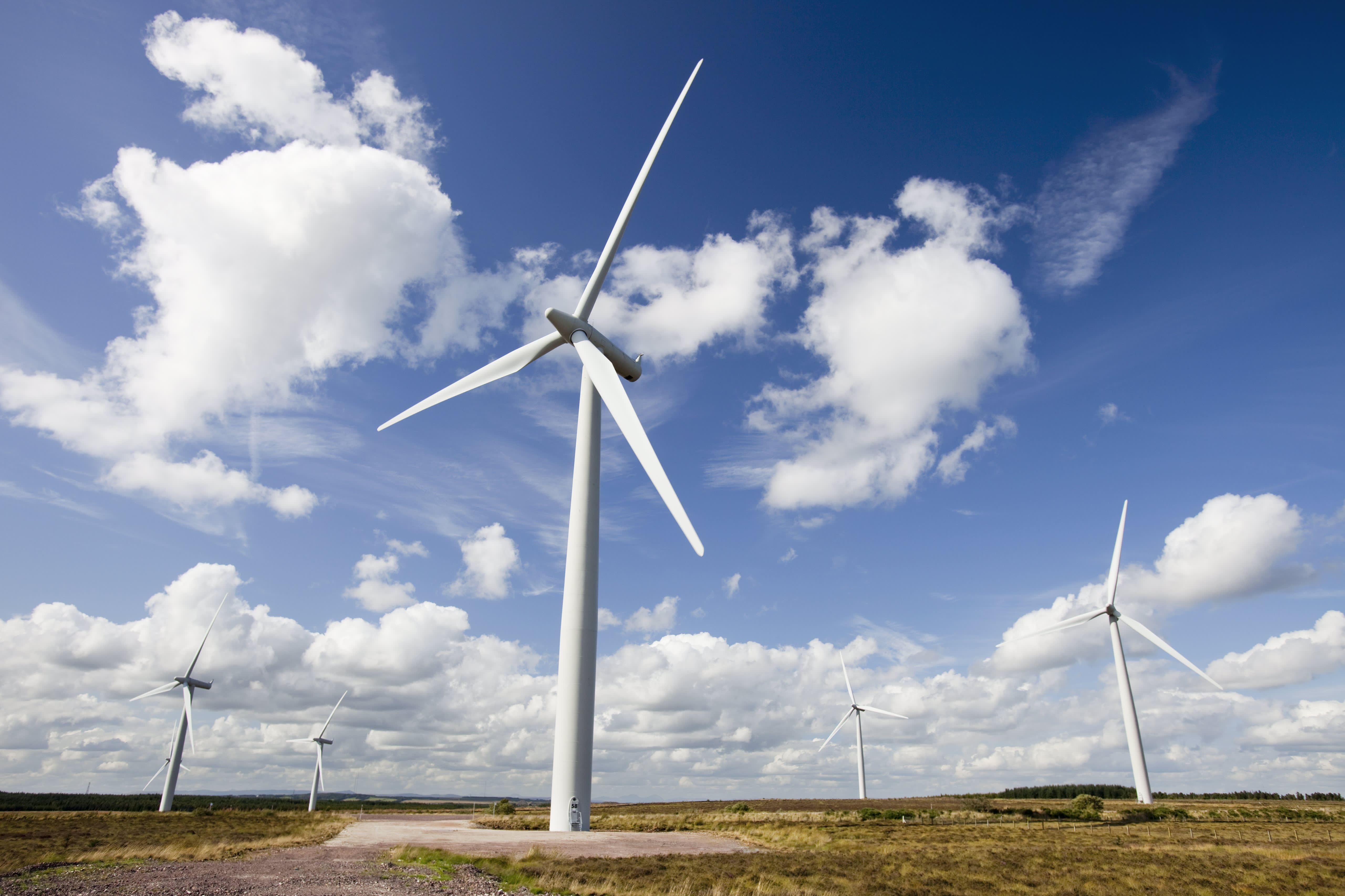 Scotland has produced enough wind energy to power its homes