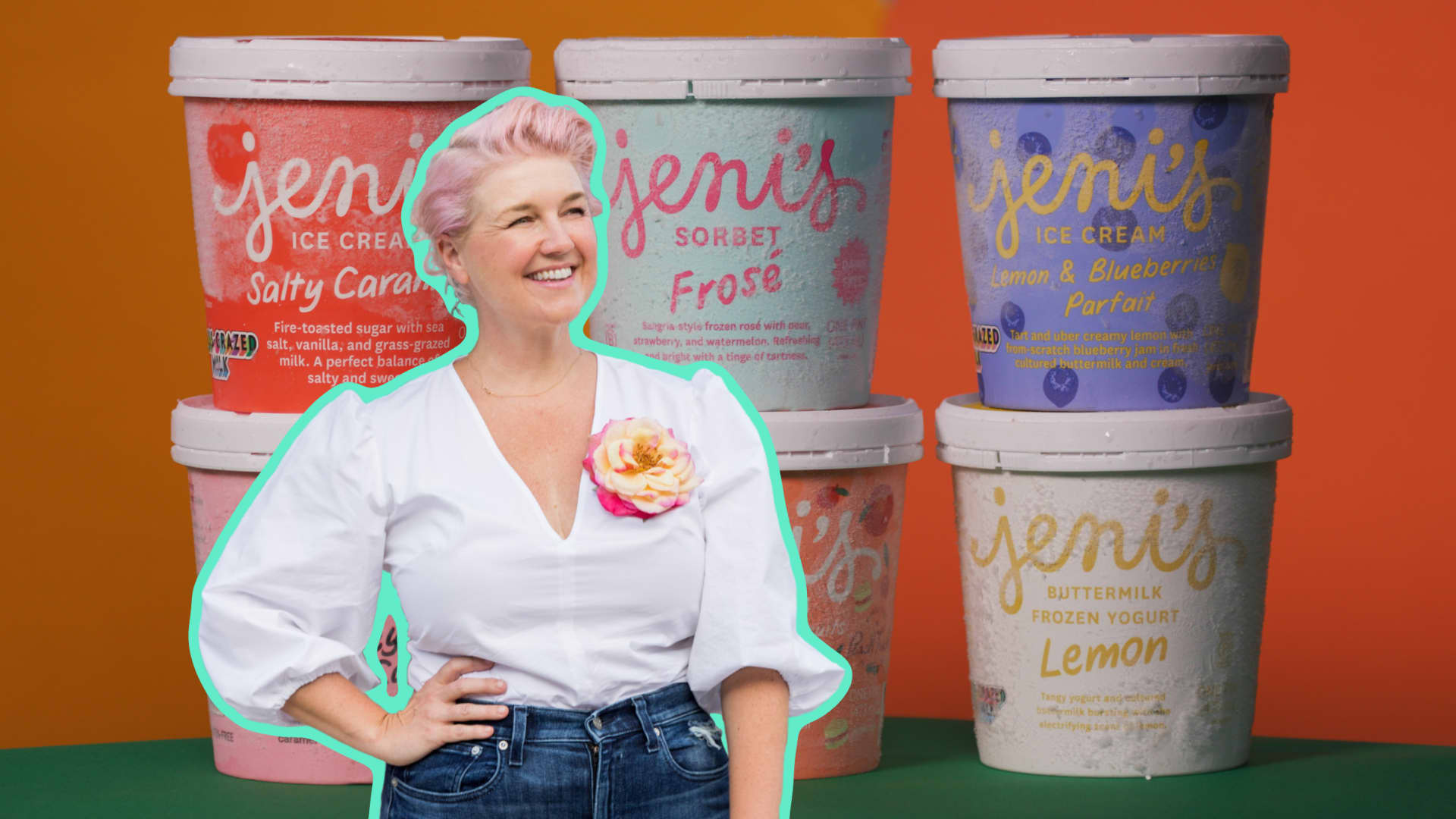 Meet the woman who's name is on 2 million pints of ice cream