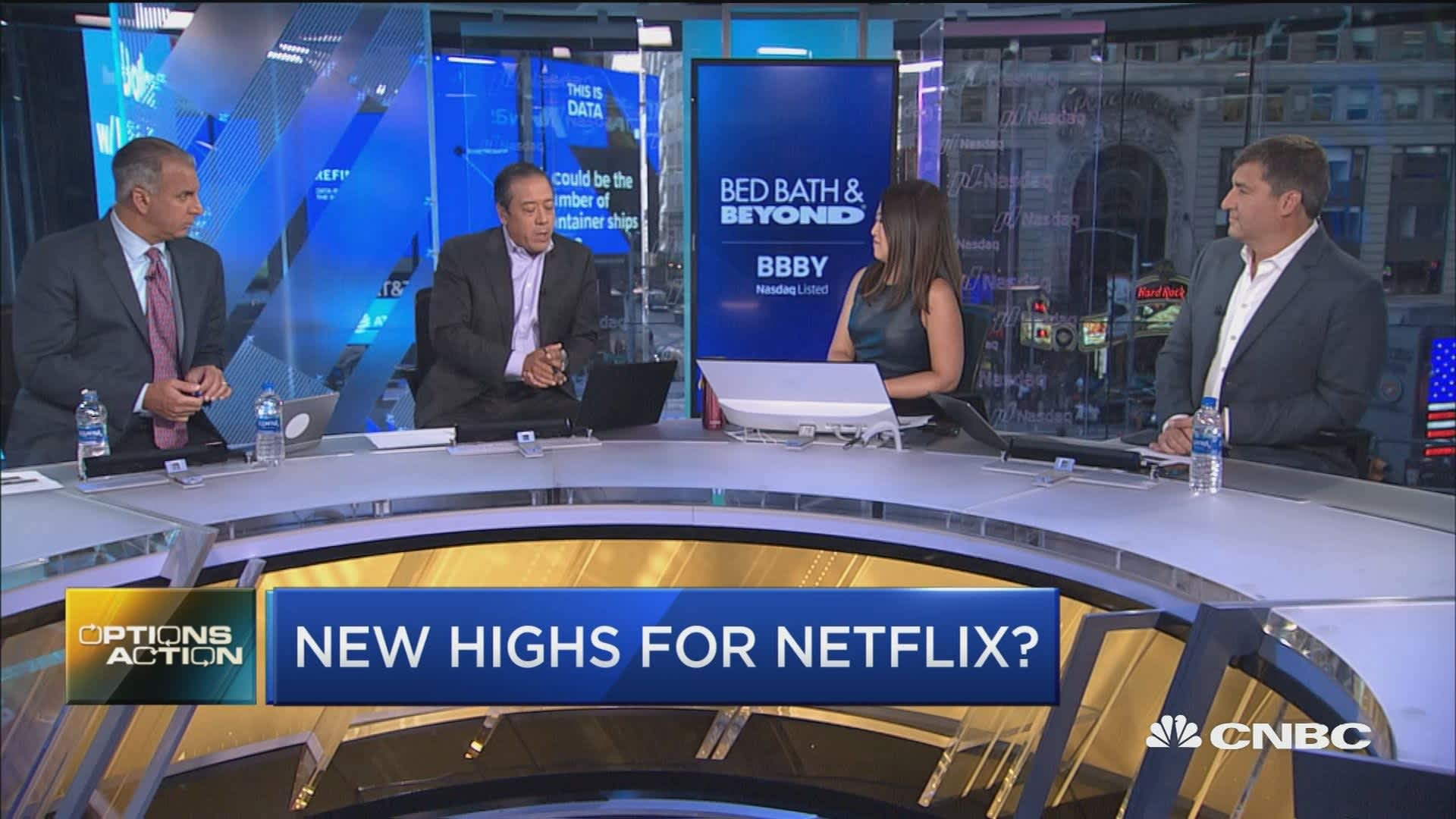 Netflix set to report earnings next week and one trader thinks new highs  are next