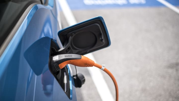 The UK government wants to fit all new homes with charging points for electric cars