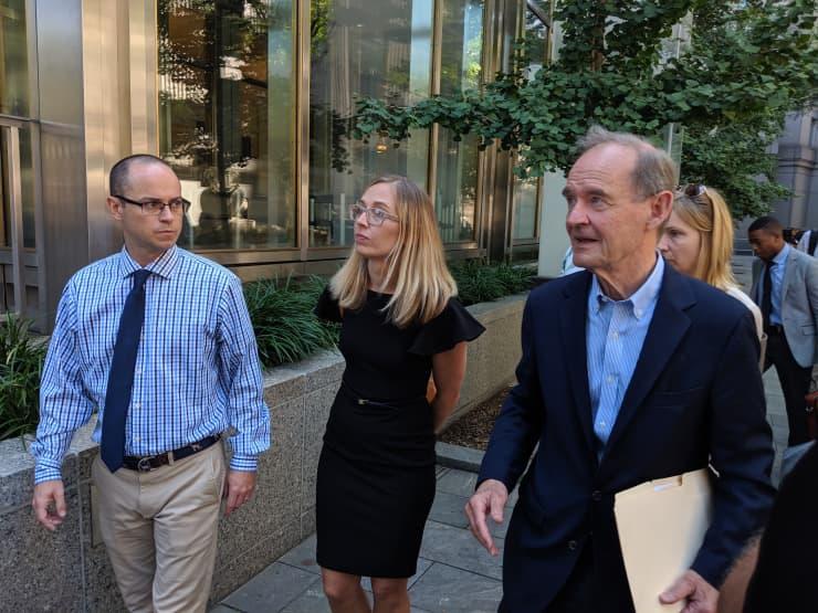 CNBC: Jeffrey Epstein sex trafficking case Annie Farmer with David Boies